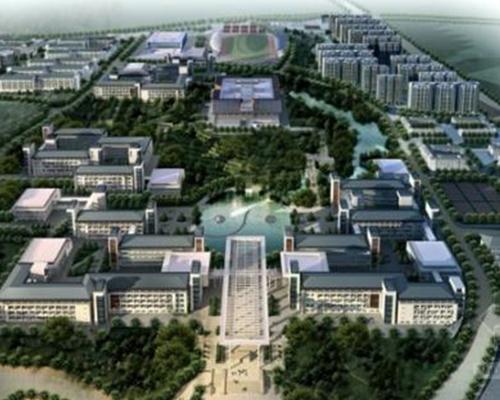 厚博学院迁建二期工程-中医学院楼