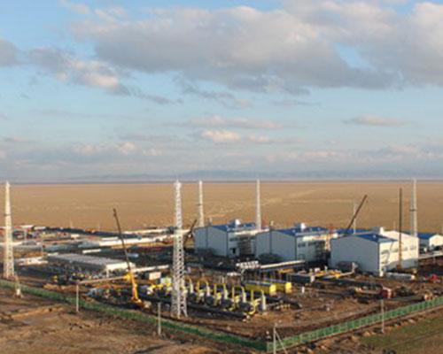 中哈天然气管道压气站CCS4站项目